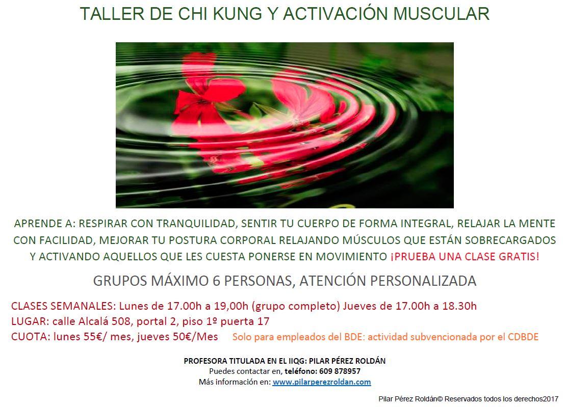 chi kung activación muscular 2017