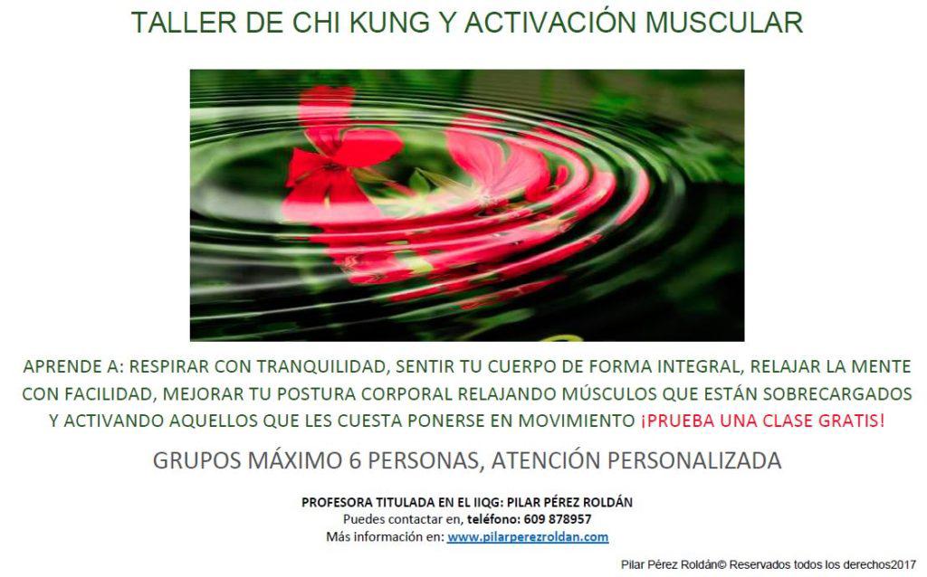 Chi kung activación muscular 2020